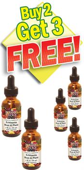 Echinacea Extract - Buy 2 Bottles, Get 3 Free