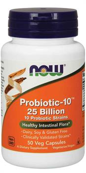 Now Foods - Probiotic-10™ 25 Billion