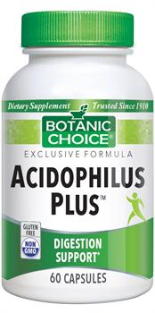 Botanic Choice - Acidophilus Plus  - 60 capsules