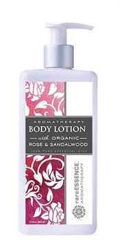 rareEssence Aromatherapy <br> Rose & Sandalwood Body Lotion