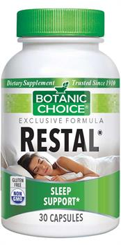 Restal� Natural Supplement promotes healthy sleep