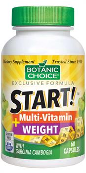 Botanic Choice - START! Multi-Vitamin + Weight