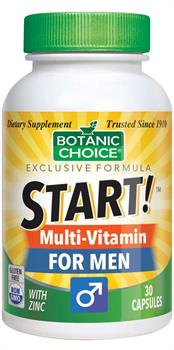Botanic Choice - START! Multi-Vitamin for Men