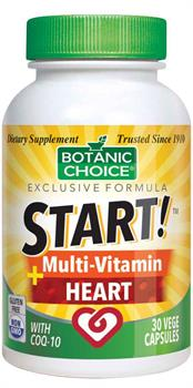 Botanic Choice - START! Multi-Vitamin + Heart