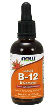 NOW Foods Vitamin B-12 Liquid Complex