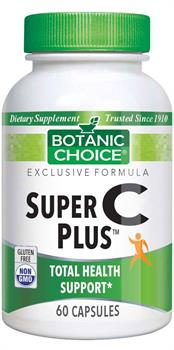 Botanic Choice - Super C Plus  - 60 capsules