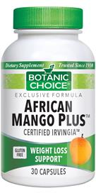 New and Improved African Mango Plus offers natural herbal weight loss support