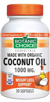 Organic Coconut Oil promotes weight loss and digestive health