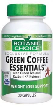 Botanic Choice Green Coffee Essentials with Green Tea and Raspberry Ketones
