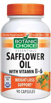 Safflower Oil with Vitamin B6 by Botanic Choice